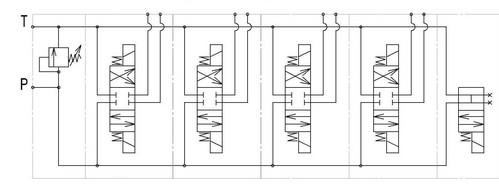 Схема электрическая принципиальная ГЕС 6.3П