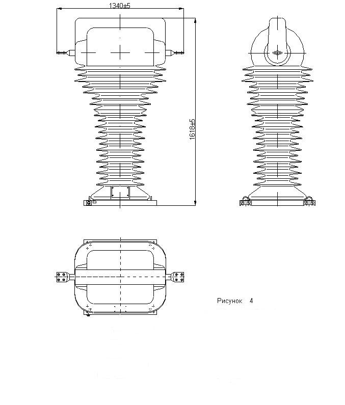 Чертеж 2 ТОЛ-110 III-1 и ТОЛ-110 III-2