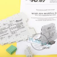 Модуль аналогового ввода WAD-AI4-MAXPro фото 1