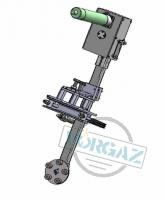 Фото 1 - Приспособление для шлифовки и притирки седел задвижек Ду 50-150 мм с пневмоприводом