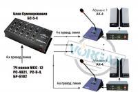 Схема включения в селектор на базе БС-5-4