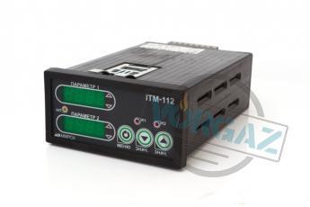 Двухканальный микропроцессорный индикатор ИТМ-112 фото1