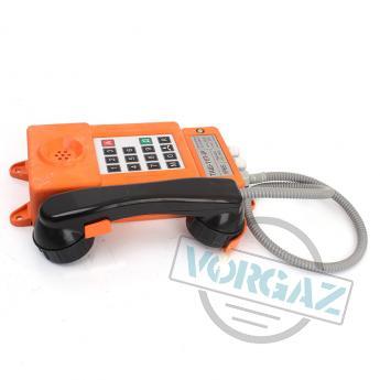 Общепромышленный телефонный аппарат ТАШ-11П-IP - вид сбоку