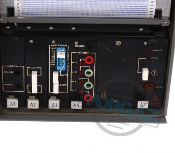 Прибор регистрирующий РП160 (лицевая панель)
