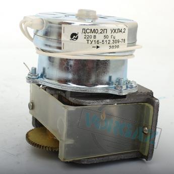 Редуктор Б-13.673.11 с электродвигателем ДСМ-0,2П - фото 1