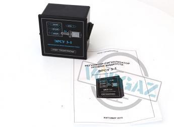 Регулятор-сигнализатор ЭРСУ 3-1 фото4