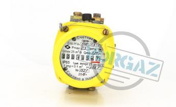 Счетчики газа ротационные серии G, РГА и РГА-Ex фото2